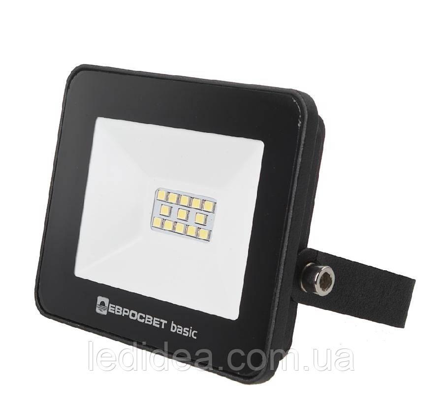 Светодиодный прожектор 20w Eco 1100Lm 6400K IP65 SMD (ЛЕД прожектор уличный), фото 1