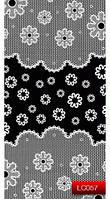 Nail Art Stickers LC057 White