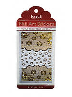 Nail Art Stickers LC057 Gold