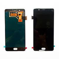 Дисплей (экран) для ZTE Nubia M2 NX551j черный (Дисплейный модуль)