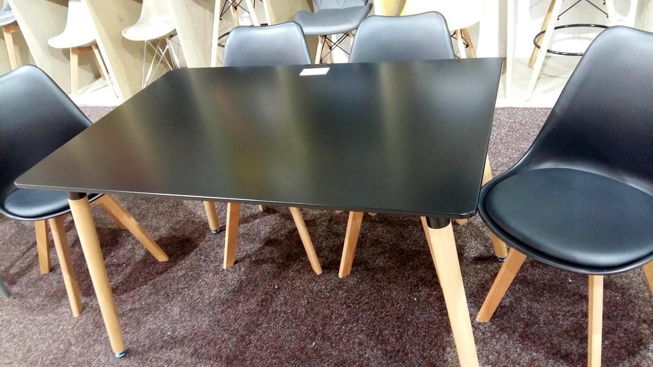 Стол Verdi 1200, цвет черный