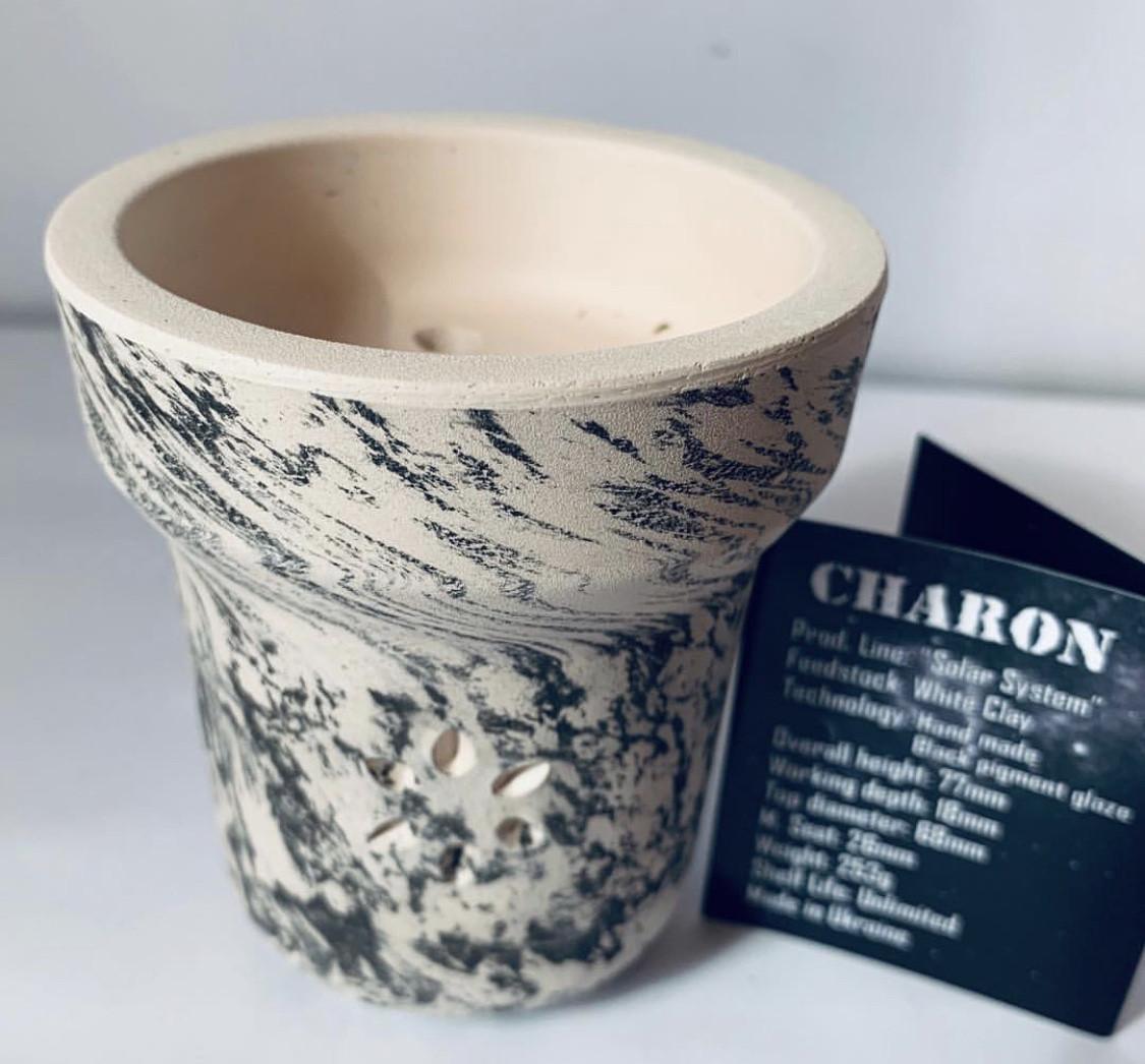 Глиняная чаша для кальяна Solaris (Солярис) - Charon