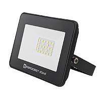 Світлодіодний прожектор 20w Standart 1600Lm 6400K IP65 SMD (ЛІД прожектор вуличний), фото 1