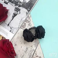 Заколка  black Rose