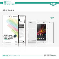 Защитная пленка Nillkin для Sony Xperia M глянцевая
