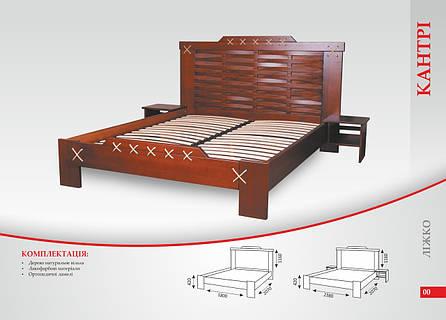 Кровать «Кантри», фото 2