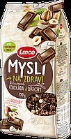 Кранчі Emco шоколадні з горіхами 750 г