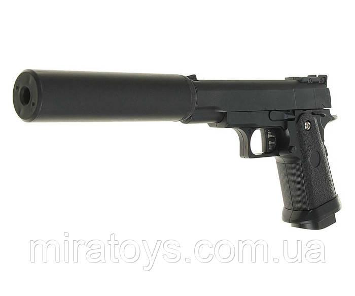 Страйкбольный пістолет Galaxy G10A (Mini Colt M1911) спринговый механізм, метал