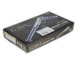 Страйкбольный пістолет Galaxy G10A (Mini Colt M1911) спринговый механізм, метал, фото 4
