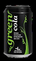 Напиток безалкогольный сильногазированный Green Cola (Стевія) 0.33 л