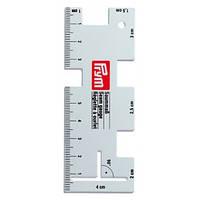 Линейка металлическая для разметки PRYM 610736