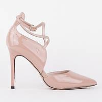Лаковые туфли Summergirl D716F pudra 34 22 см, фото 1