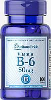 Витамин В-6 50мг (100таб.)