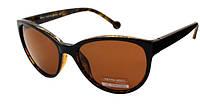 Солнцезащитные очки коричневые женские Retro moda Polaroid