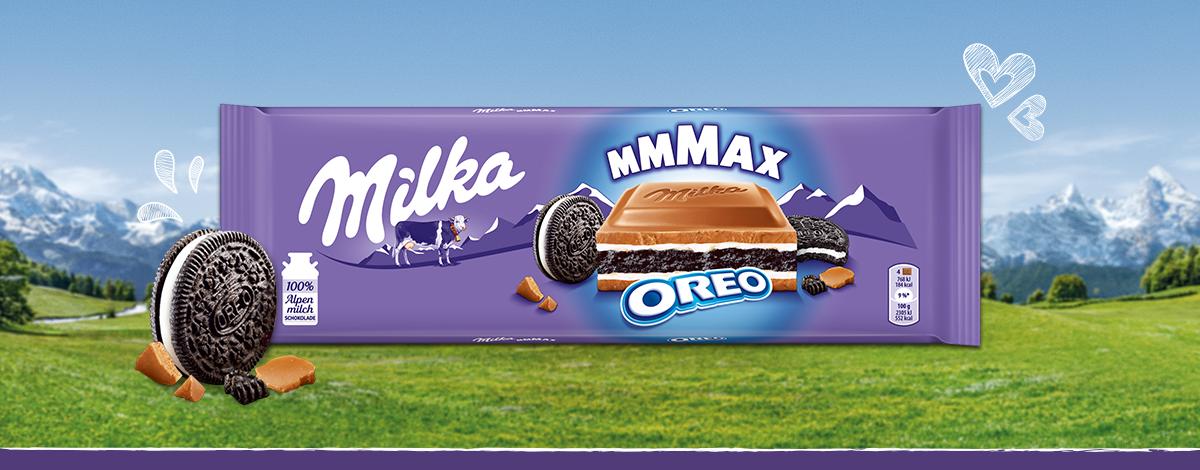Молочний шоколад з печивом Milka Oreo 300 г