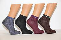 Женские носки с люрексом EKMEN с камушками, фото 1