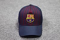 Футбольная кепка Барселона темно-синяя