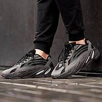 Мужские кроссовки Adidas Yeezy Boost 700 V2 Black (Реплика ААА+), фото 1