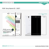 Защитная пленка Nillkin для Sony Xperia C3 глянцевая