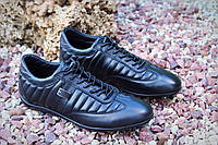 Мужские кроссовки из натуральной кожи , фото 1