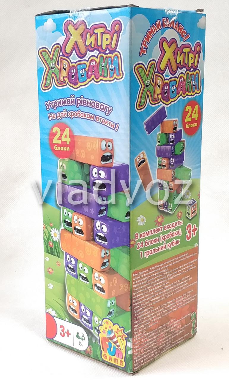 фото упаковки Развлекательная настольная игра башня Хитрые Червяки
