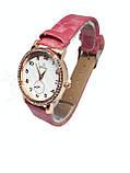 Часы женские кварцевые Ger I Dun Кружок Розовый, фото 2