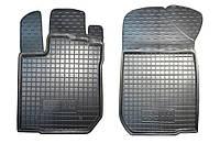 Полиуретановые передние коврики для Renault Logan II 2013- (AVTO-GUMM)