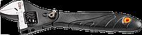 Ключ разводной с трещоткой 200мм Neo 03-017