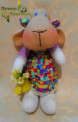 """Мягкая игрушка, овечка """"Маня"""", ручной работы., фото 2"""