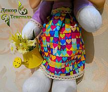 """Мягкая игрушка, овечка """"Маня"""", ручной работы., фото 3"""