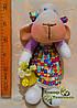 """Мягкая игрушка, овечка """"Маня"""", ручной работы., фото 4"""