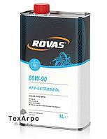 Rovas 80W-90 Универсальное трансмиссионное масло для легковых и грузовых автомобилей (1 литр)