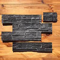 """Комплект резиновых штампов """"Аляска"""" для настенной печати по бетону и штукатурке 610*310 мм"""