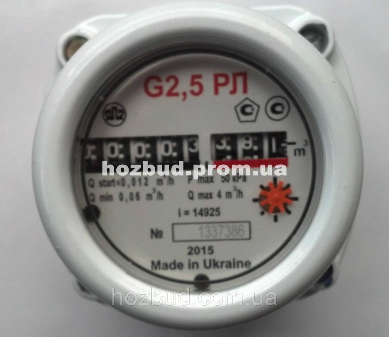 Газовый счетчик роторный Ямполь G2.5