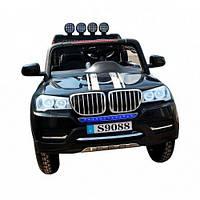Электромобиль детский BMW X5 черный