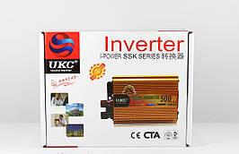 Перетворювач AC/DC 500W SSK перетворювач постійного струму інвертор 12v 220v