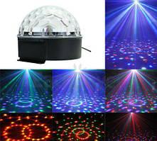 Світлоприлад Bestchamte LED BALL Light Dmx (полусфера)