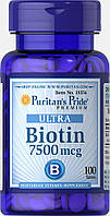 Биотин (7500 мкг) (витамин Н) 100 таб.