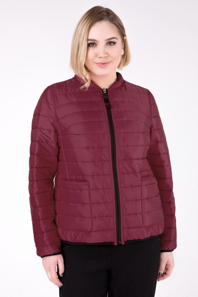 Двусторонняя короткая куртка больших размеров 48-64