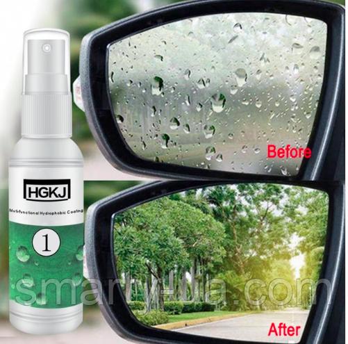 Антидождь для стекла авто -  гидрофобное покрытие