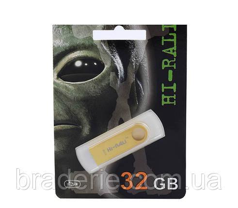 USB флеш накопитель HI-RALI 32 Gb Металл, фото 2