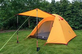 4-х местная палатка с алюминиевыми стойками P-Series 210T65D, фото 3