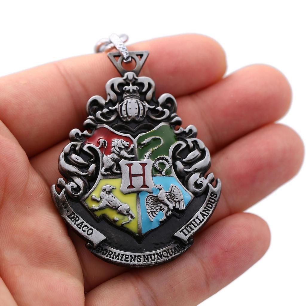 Брелок металлический Гарри Поттер Хогвартс 6 см