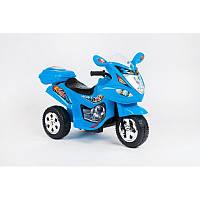 BabyTilly Электромобиль мотоцикл голубой/красный