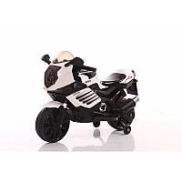 BabyTilly Электромобиль мотоцикл красный/белый