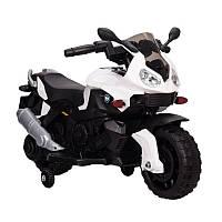 BabyTilly Электромобиль мотоцикл оранжевый/красный/белый