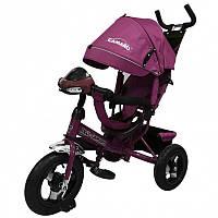 """BabyTilly Велосипед 3-х колёсный """"Tilly CAMARO"""" Зелен./Красный/Ментол/Оранж./Роз./Серый/Синий/Фиолет"""