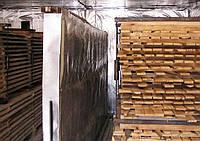 Сушка дерева и пиломатериал (сосна)