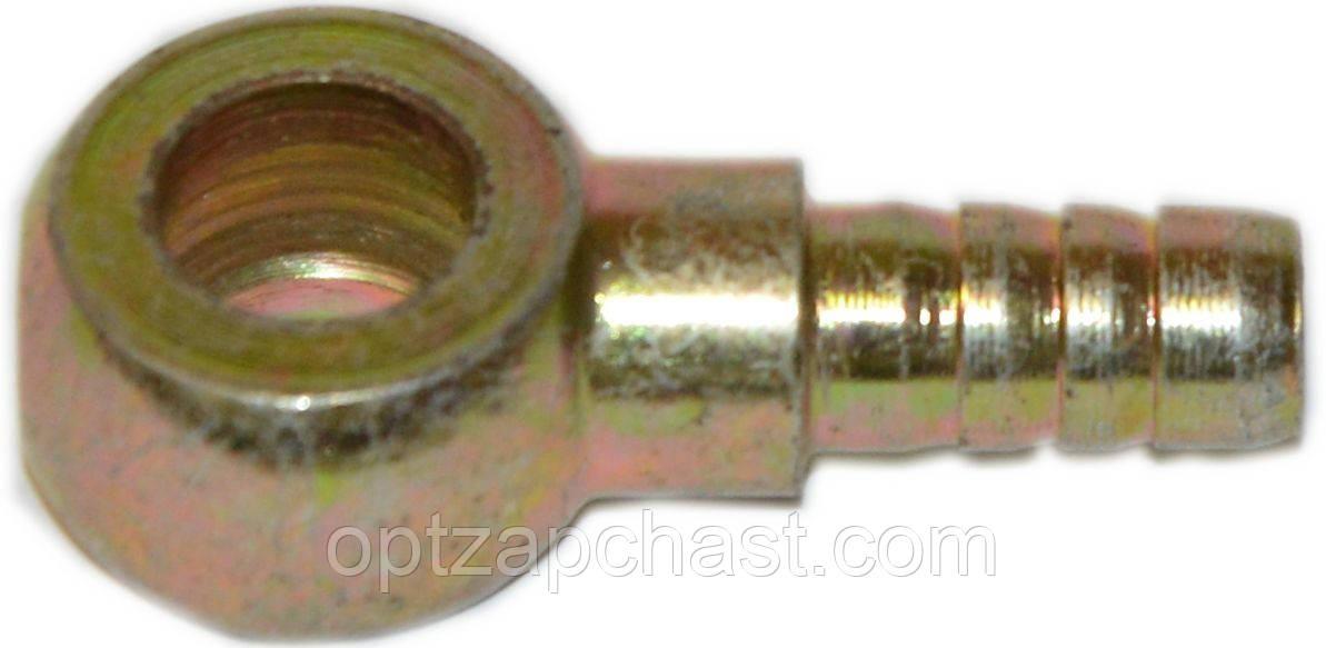 Угольник поворотный (банджо) Ф16 (металл) выход Ф8  240-1104118