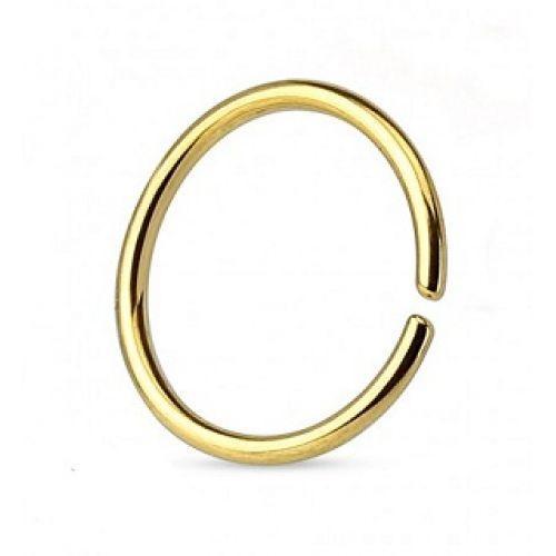 Кольца для пирсинга с разгибом с покрытием 141094